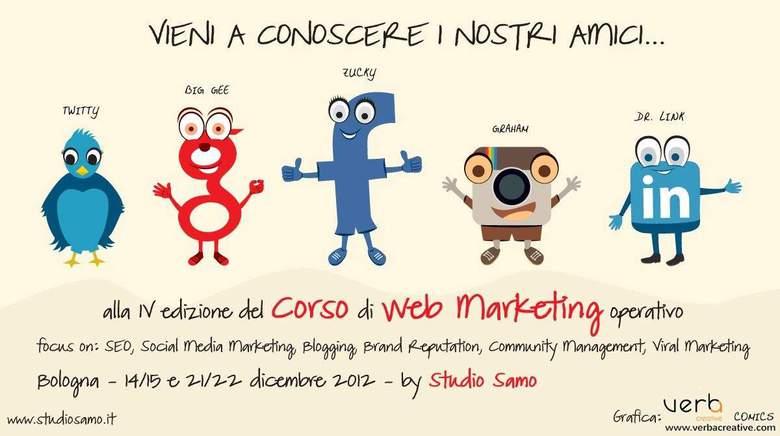 corso social media marketing bologna