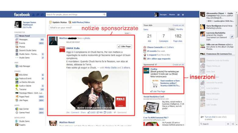 Come fare marketing su Facebook con la pubblicità
