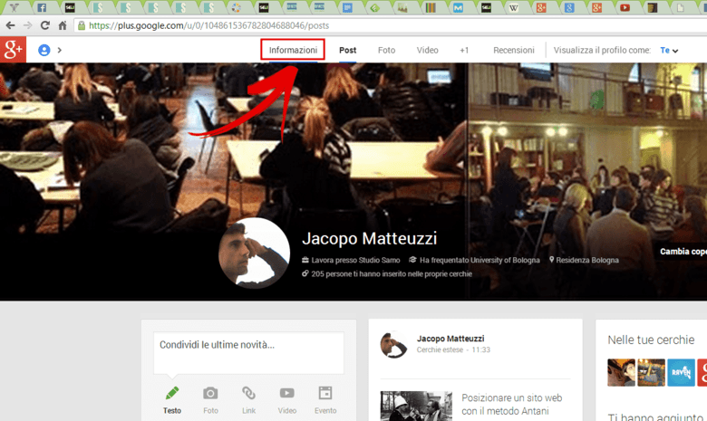 google plus autore
