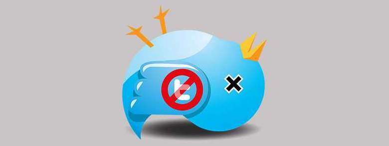 smettere di usare twitter