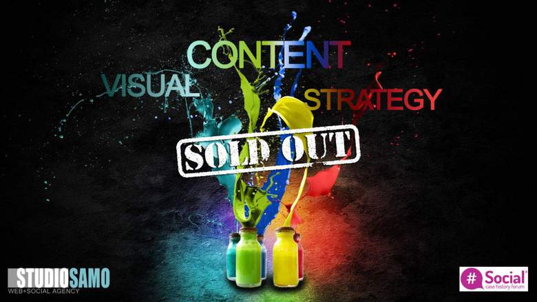 visual content strategy sold out