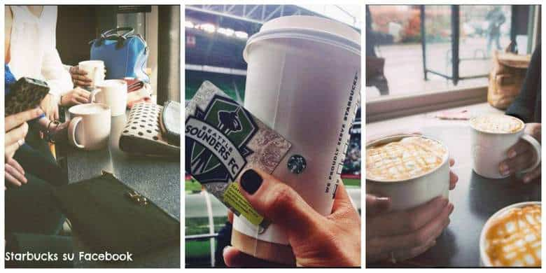 Starbucks su Facebook Studio Samo
