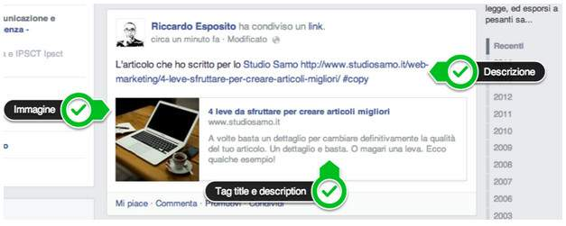 facebook microcontenuti