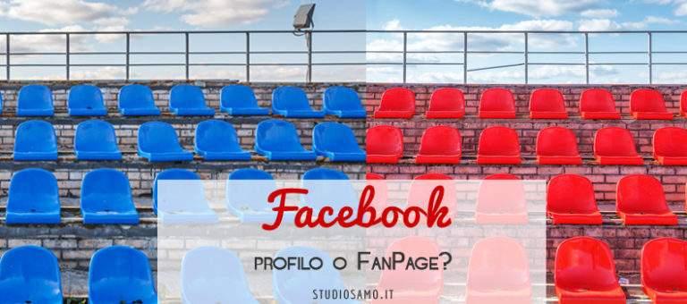 Facebook: profilo o pagina per la mia attività?
