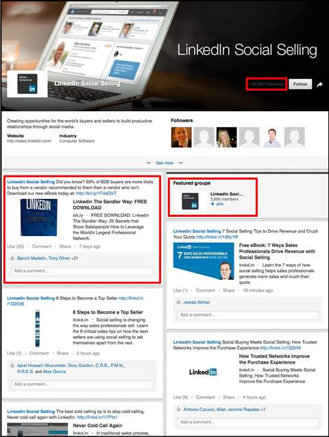 jr linkedIn social selling