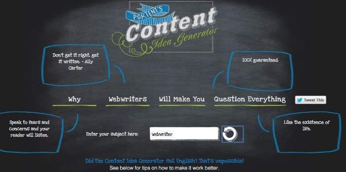 5 strumenti gratuiti per scrivere un grande titolo for Portent headlines