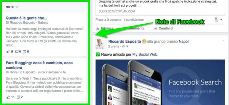 4 modi intelligenti per sfruttare Facebook Note