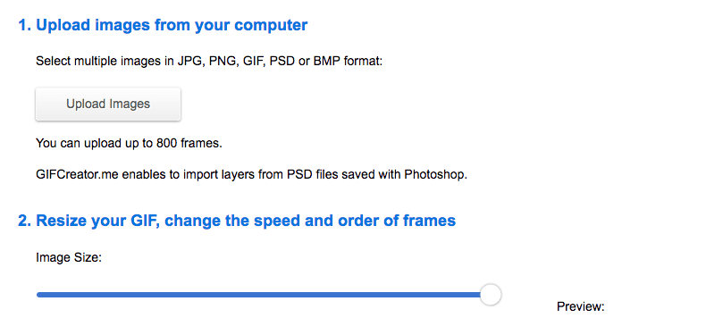Come creare GIF online