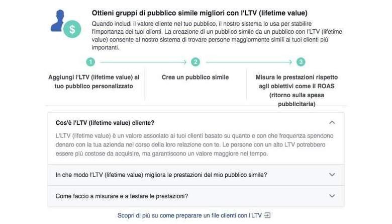 Come creare un pubblico personalizzato basato su valori