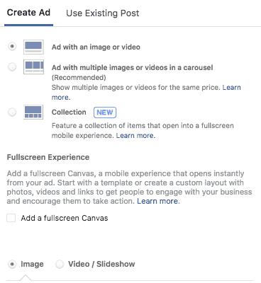 Creazione Ad Facebook