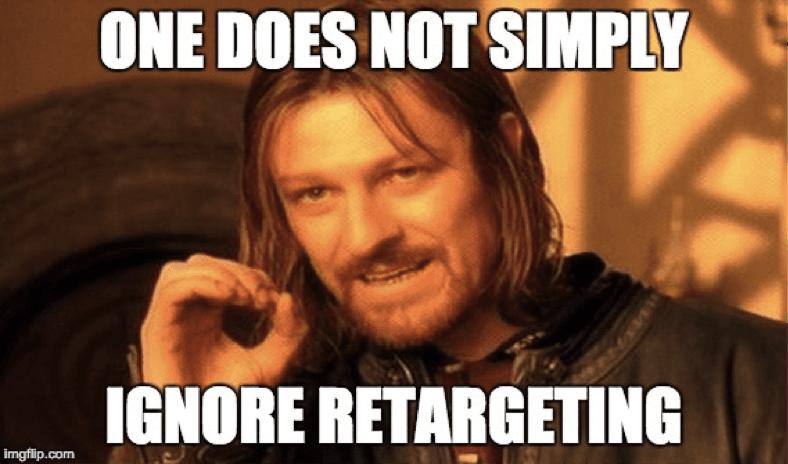 retargeting meme