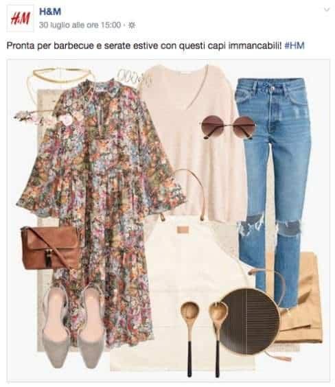 moda sui social