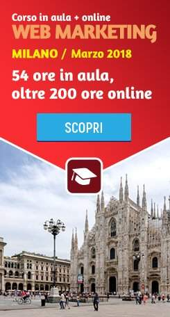 corso web marketing milano
