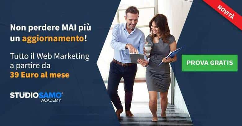 corsi web marketing in abbonamento