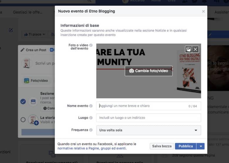 Come creare un evento di successo su Facebook
