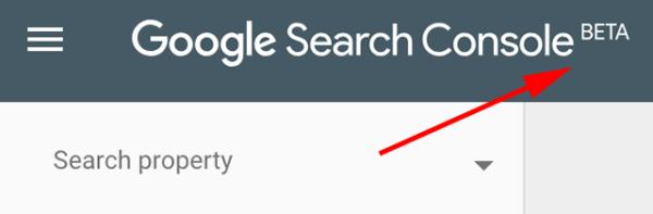 nuovo google search console