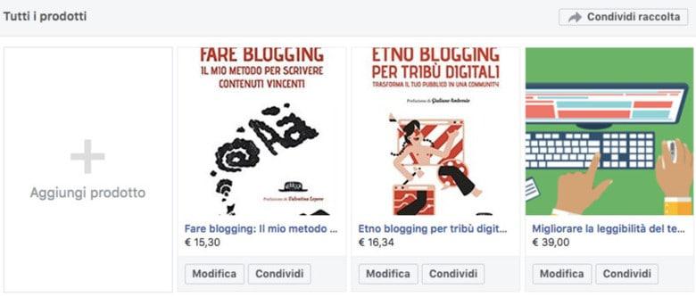 Come creare una pagina Facebook per ecommerce