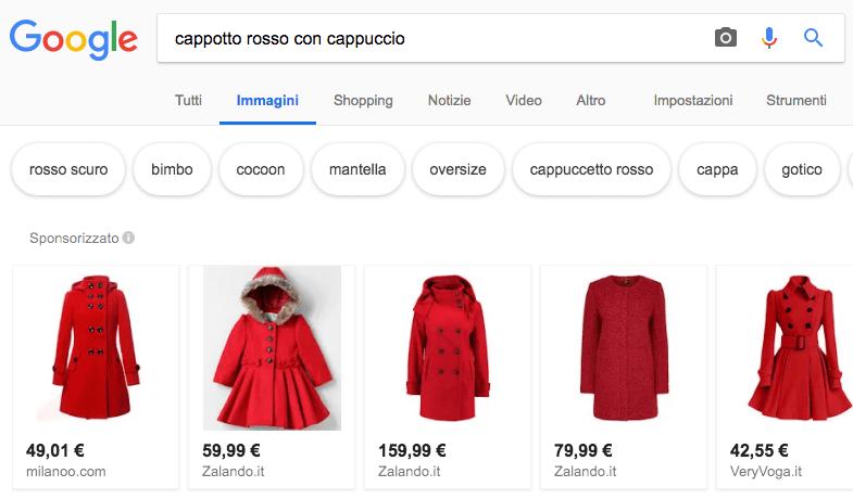 vendite ecommerce: ricerca image