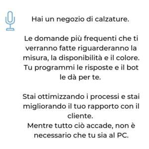 richieste informazioni chatbot MA