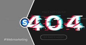 sfruttare pagina errore 404