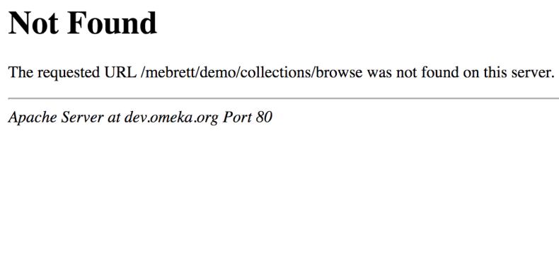 esempio pagina errore 404