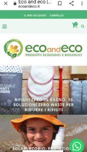 ecommerce ecosostenibile eco&eco