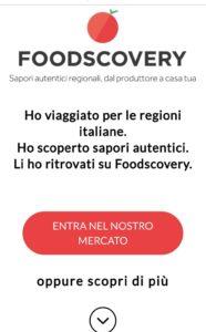 ecommerce vendita prodotti privati e ristoratori di alimenti certificati