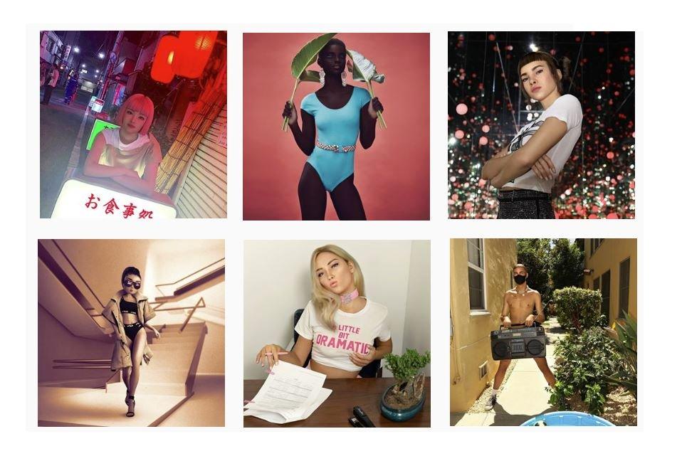 Virtual influencer Instagram