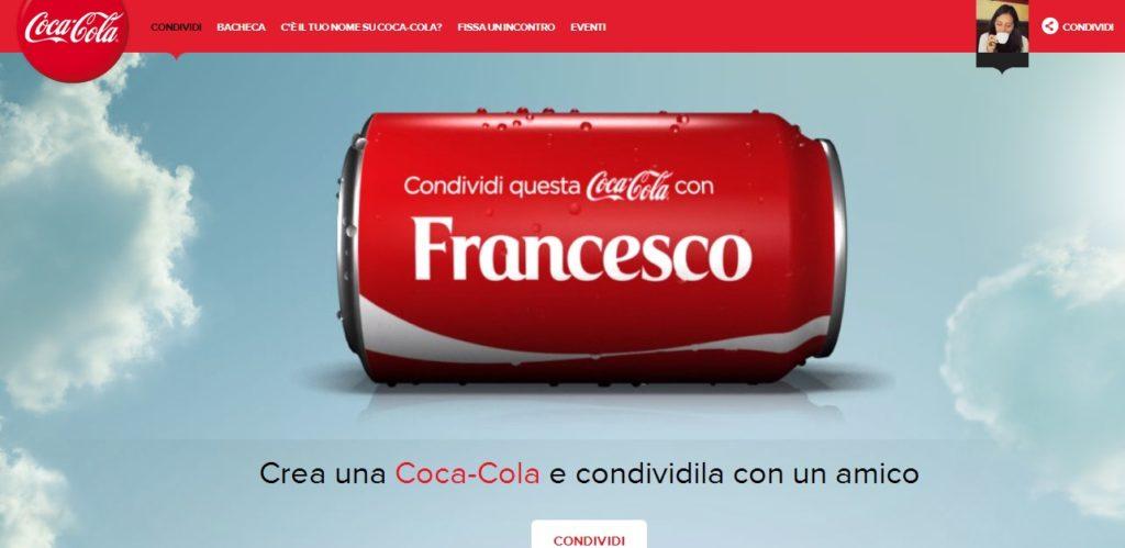 Esempio di campagna UGC di Coca-Cola