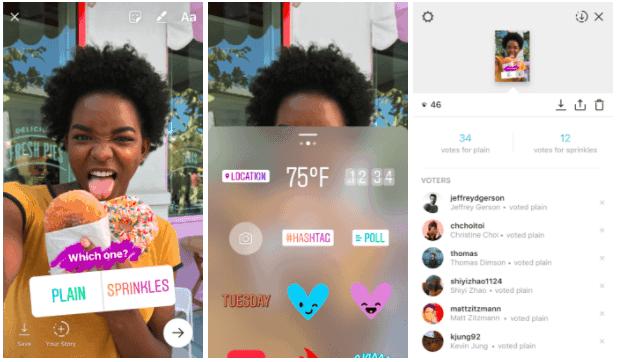 Come si fanno i sondaggi su Instagram Stories? Puoi lanciare uno sticker interattivo.