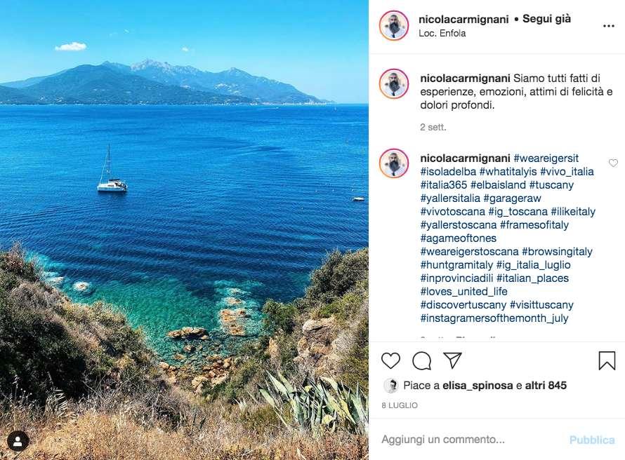 Inserisci gli hashtag giusti su Instagram