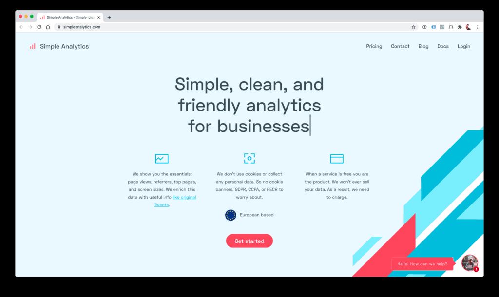 Simple Analytics - alternativa a Google Analytics