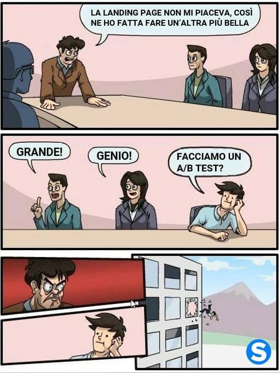 Un  meme di Studio Samo