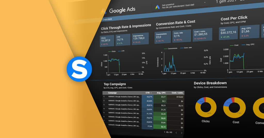 google data studio cos'è