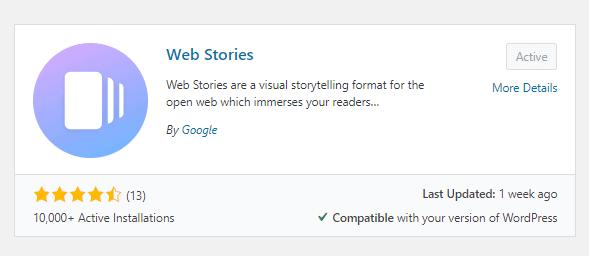 Come installare il plugin WordPress per le Web Stories di Google