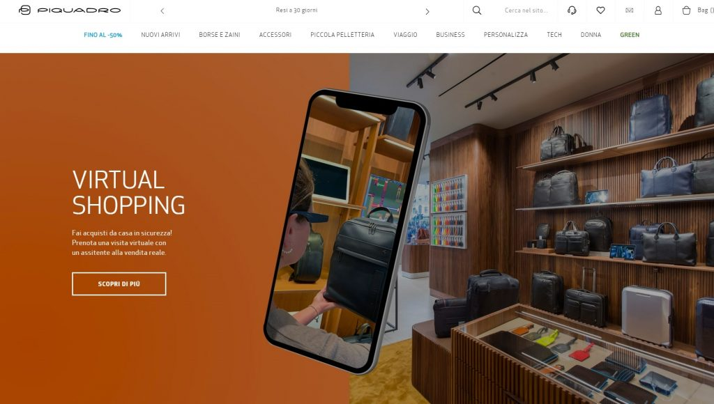 Homepage efficace per ecommerce  Xiaomi
