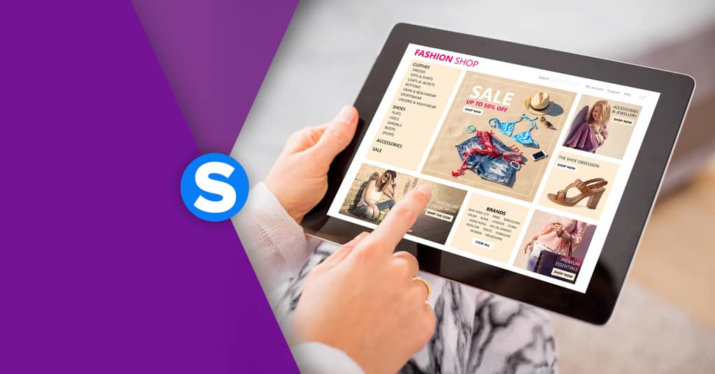 homepage ecommerce efficace