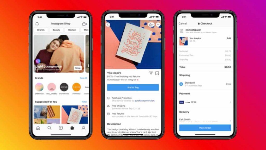 social commerce Instagram Shop