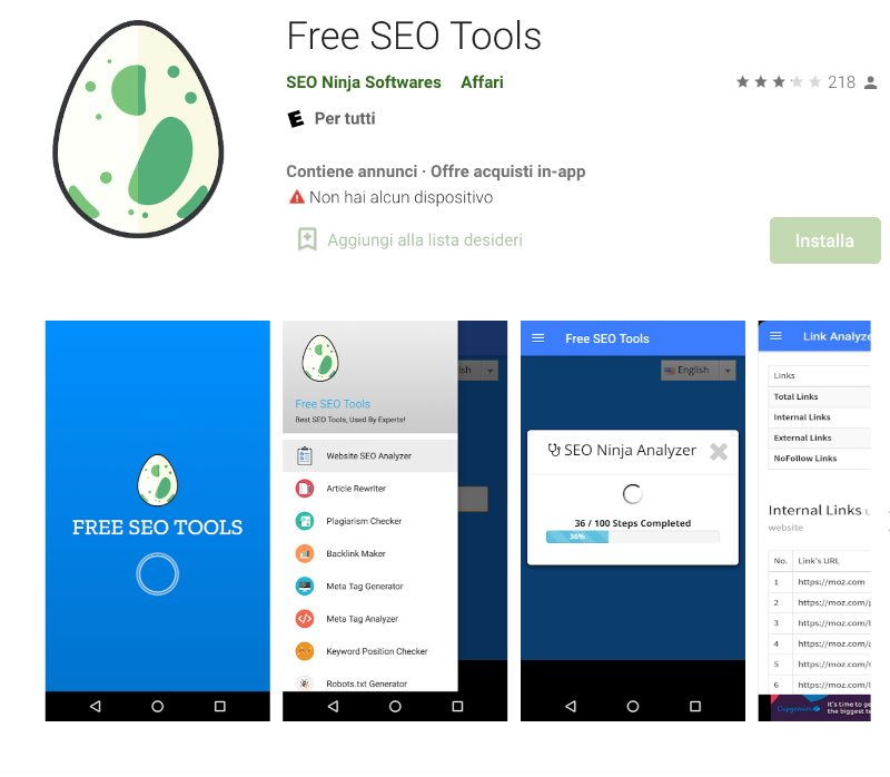 app seo free seo tools