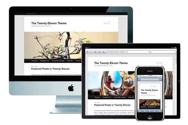 wordpress tema responsive design