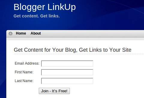 Blogger LinkUp